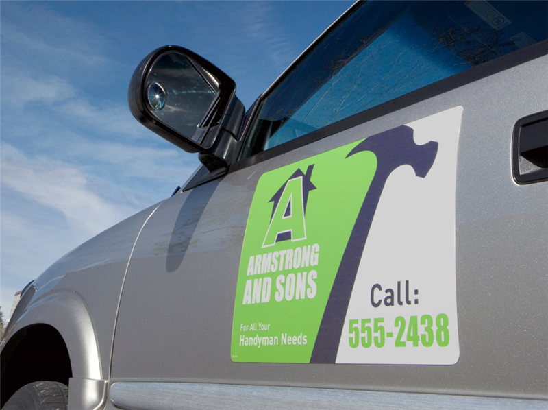 Corporate Edge Printing - Auto decals and magnets